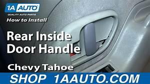How To Replace Rear Interior Door Handle 95