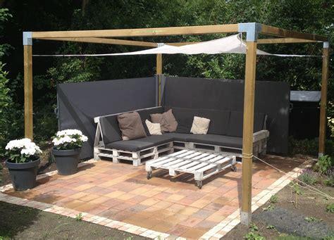 pallet bank bouwtekening pallet loungebank maak eenvoudig je eigen loungeset