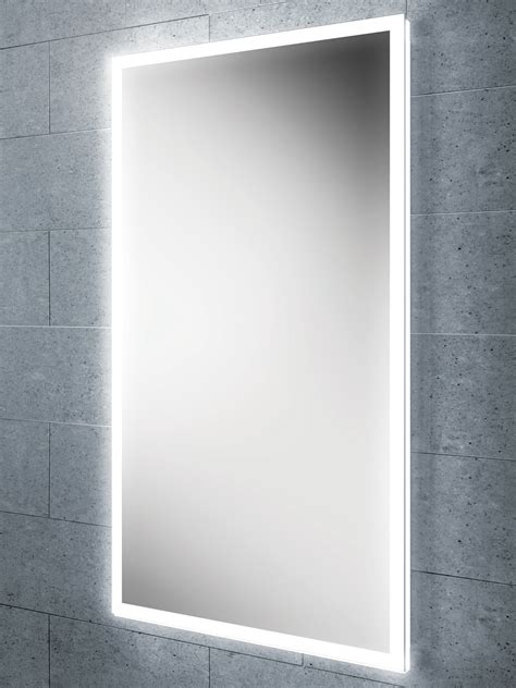 Small Illuminated Bathroom Mirrors by Hib Globe 50 Steam Free Led Illuminated Bathroom Mirror