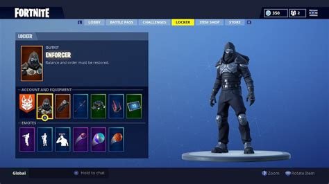 fortnite road trip rewards   enforcer skin