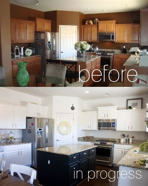 Repainting Kitchen Cupboards by Repainting Kitchen Cupboards Kitchen Makeover