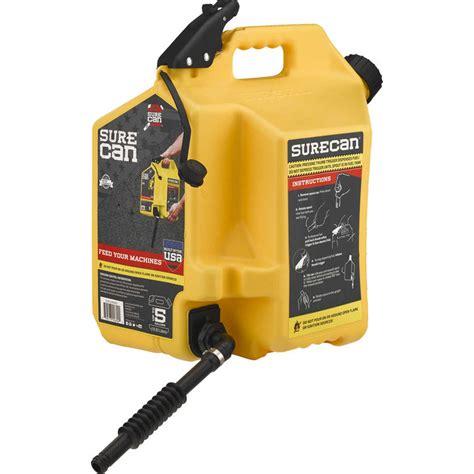 surecan  gallon yellow gas   diesel fuel surd