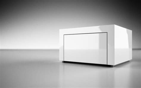 Lack Weis by Sideboard Repositio Puristisches Design Sideboard