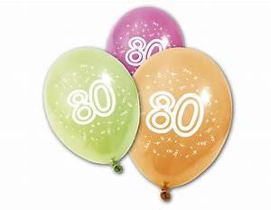Besinnliches Zum 80 Geburtstag : 8 verjaardagsballonnen 80 jaar decoratie en goedkope carnavalskleding vegaoo ~ Frokenaadalensverden.com Haus und Dekorationen