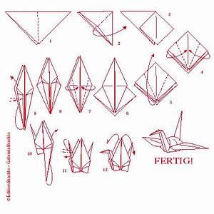 Origami Kranich Anleitung : origami schwan faltanleitung ~ Frokenaadalensverden.com Haus und Dekorationen