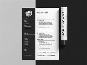 howse cv template free clean cv template with cover letter