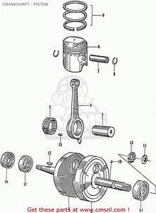 Honda C110 General Export  140115  Crankshaft - Piston - Buy Crankshaft