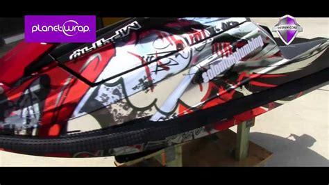 Jet Ski Boat Wraps by Chrome Jetski Wrap