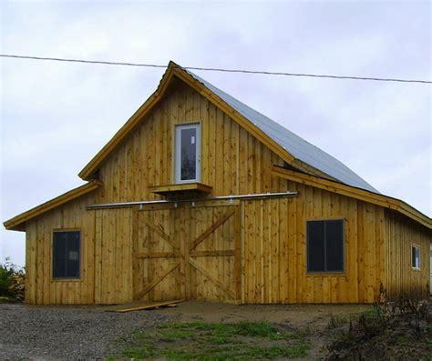 pole barn kit traditional post and beam barn home kits