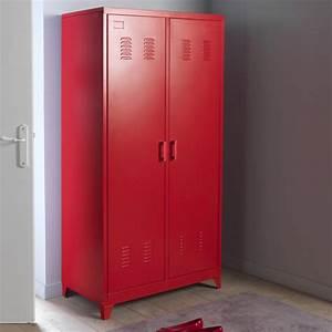 Casier De Rangement Ikea : charmant armoire vestiaire mtallique fly et cuisine ~ Premium-room.com Idées de Décoration