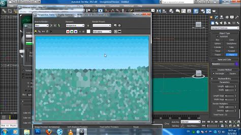 ds max water rendering  tutorial eververy easy youtube