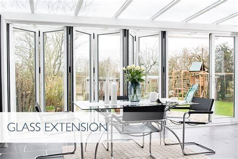 Conservatory Glass Extensions