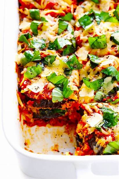 Eggplant Baked Parmesan Recipe Oven Recipes Gimme