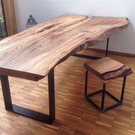 Tische Aus Holz massivholztisch baumtisch massivholzplatte esstisch