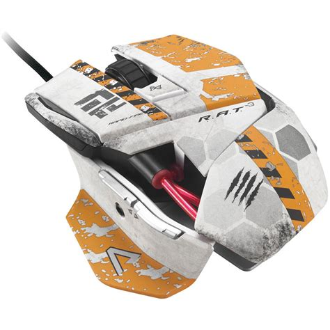 Mad Catz Titanfall Rat 3 Gaming Mouse Ttf437030001041 Bandh