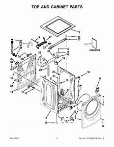 Whirlpool Wfw94hexw0 Parts List
