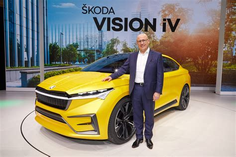 Update Motor Show 2019 : Škoda At The Geneva Motor Show 2019