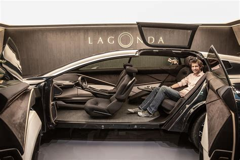 lagonda  terrain concept shows  electric  road