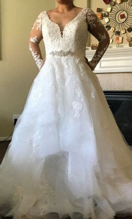 essense  australia  wedding dress  size