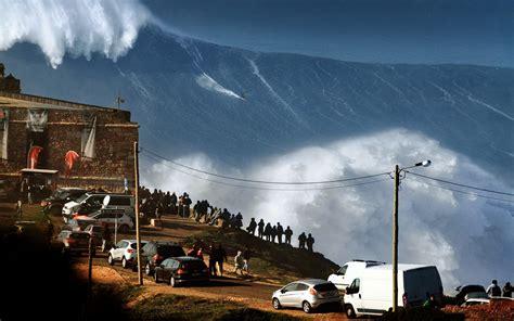 Landscape Nature Huge Waves Sea Surfing Sports Water