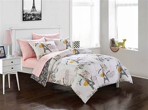 Your, Zone, Teen, Paris, Eiffel, Tower, Bed, In, A, Bag, Bedding, Set