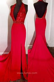 bc659827a27 Best Red Mermaid Prom Dress - ideas and images on Bing