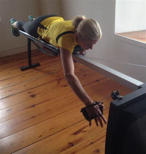 Vasa Swim Bench by Vasa Athlete Lisbeth Kenyon 4x Kona Ironman Age