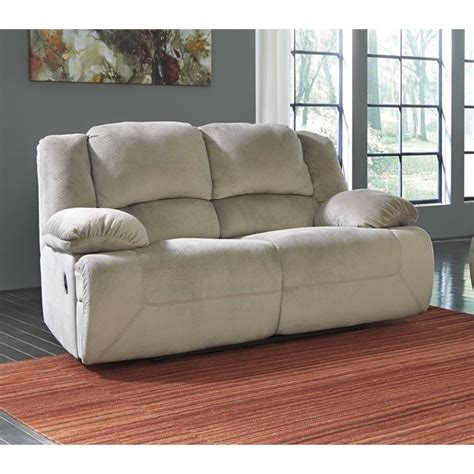 fabric reclining sofas and loveseats toletta fabric power reclining loveseat in granite