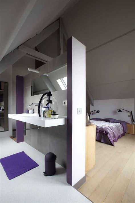 salle de bain dans chambre chambre avec salle de bain
