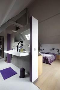 chambre avec salle de bain With salle de bain dans chambre