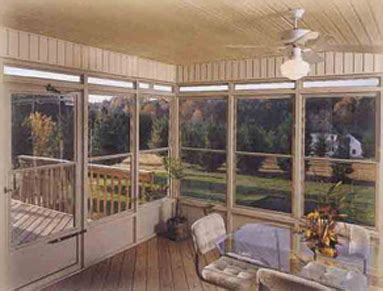 season room enclosure west window