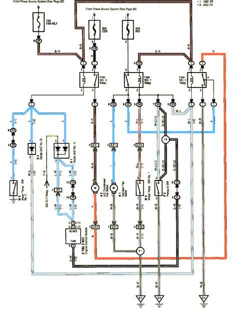 Corvette Cooling Fan Relay Wiring Diagram