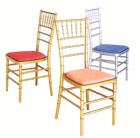 how much wedding chairs cost