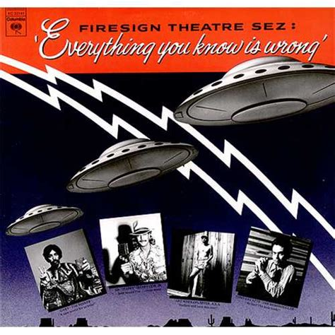 The Firesign Theatre Everything You Know Is Wrong Us Vinyl