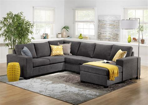 grey leather sectional living room ideas best 25 grey sectional sofa ideas on grey