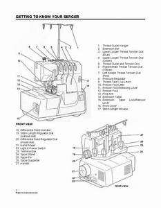 Simplicity Easy Lock Serger Sl370 And Sl390  Examples Of