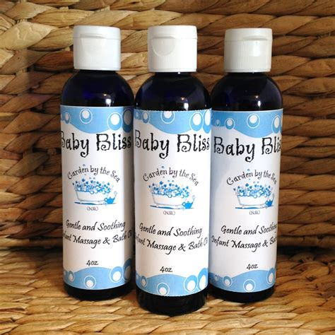 Baby Bliss Lavender Bath Massage Oil Garden By The Sea