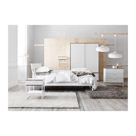 Trysil Ikea Bett by Trysil Bed Frame White Light Grey Sleep Ikea Bedroom