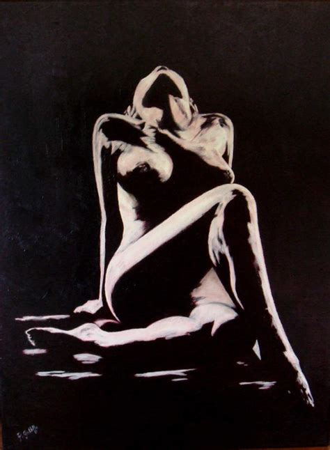 Laid Back Lady Oil over Acrylic Painting For Sale laying nude woman Nude Women Art