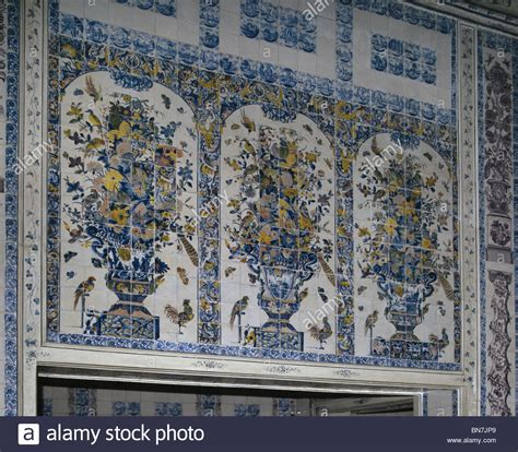 delft kitchen tiles delft tiles of flowers in the kitchen of the amalienburg 3147