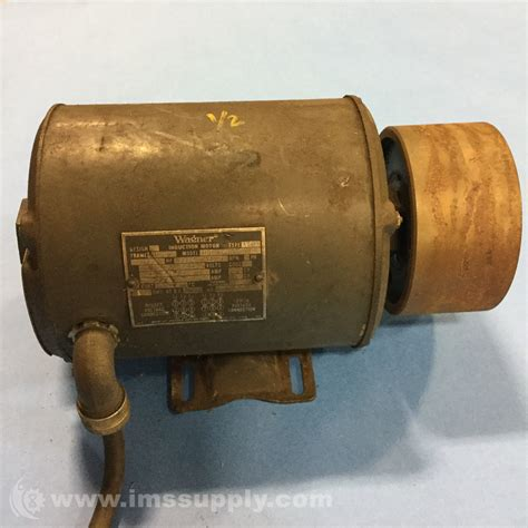 Wagner Electric Motors by Wagner Electric Corp H56 69000 05 Motor 1725rpm 3ph 208