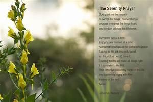 Serenity Prayer Wallpaper ·①