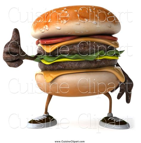 3d cuisine royalty free cheeseburger character stock cuisine designs