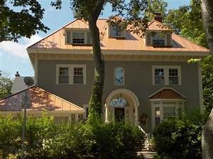 copper penny roof photos | THE STANDING SEAM METAL ROOF ...