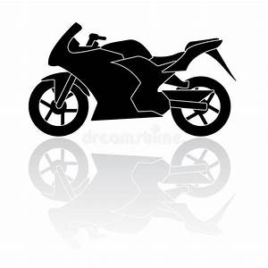 Motorcycle Silhouette Vector Icon Stock Vector ...