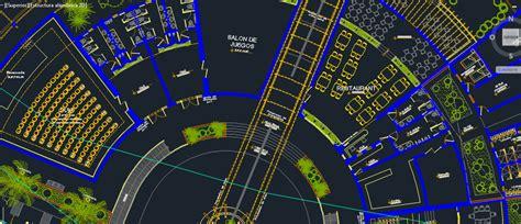 ecological center  dwg design plan  autocad designs cad