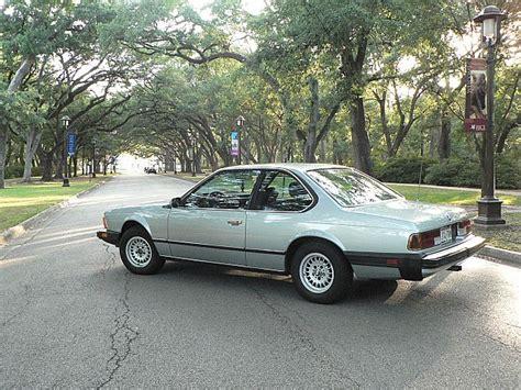 Bmw 633csi by 1983 Bmw 633csi For Sale Houston