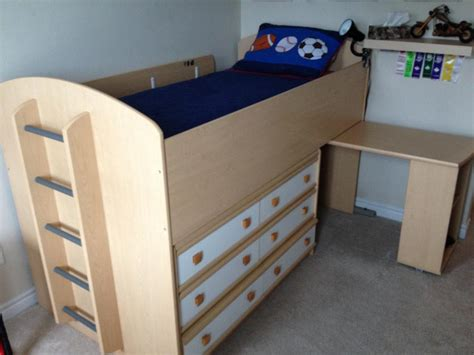 children s loft bed dresser and desk combo nepean gatineau