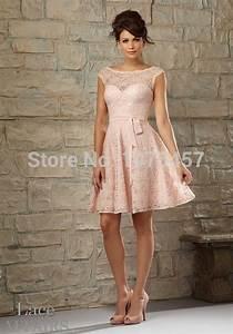Robe Rose Pale Demoiselle D Honneur : robe rose pale dentelle ~ Preciouscoupons.com Idées de Décoration