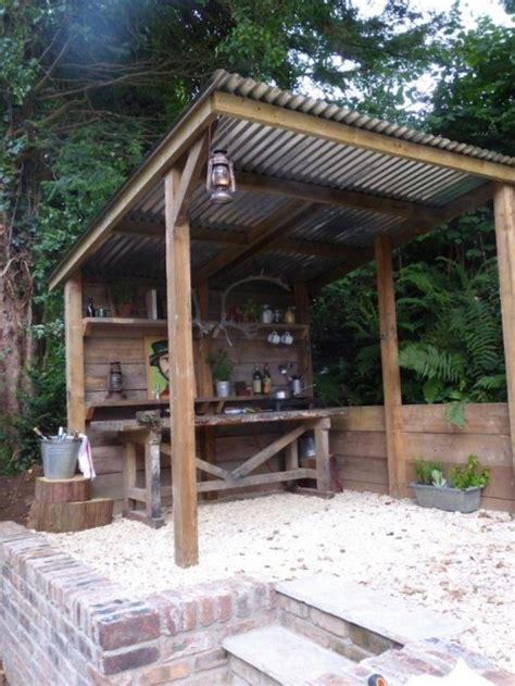 outdoor cooking shelter pub sheds are the latest backyard trend portland